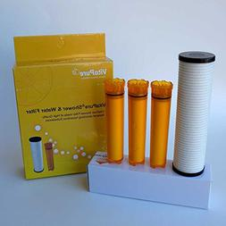 Sonaki Shower Dual Filter Refill Cartridges - 4 Pack include