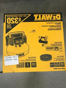 Dewalt DW1KIT18PP Heavy-Duty 6 Gal Compressor Combo Kit & 18
