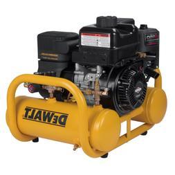 Dewalt DXCMTA5090412 6 HP 4 Gallon Oil-Free Twin Tank Pontoo