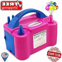 Electric Balloon Blower Machine Air Pump 110V 600W Portable
