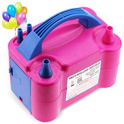 LotFancy Air Balloon Pump Inflator - Portable Electric Latex