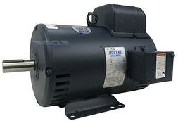 LEESON ELECTRIC MOTOR 132044 FOR AIR COMPRESSOR 7.5HP 1-PHAS