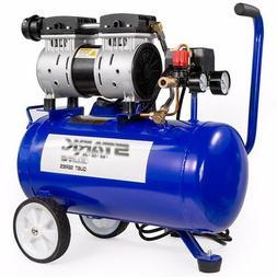 Elite silent Air compressor Tools Quiet Oil Free motor 6.3-G