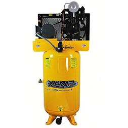5 HP Air Compressor, 80-Gallon, Vertical, 2-Stage, 1-Phase,