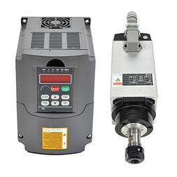 3KW 220V Er20 Collet Air Cooled CNC Spindle Motor and 3kw 22