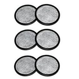 Everyday 6-Replacement Charcoal Water Filters for Mr. Coffee