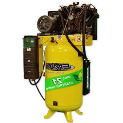 EMAX EVR07V080V13 7.5 HP 80 Gal. 1-Phase Air Compressor w/ C