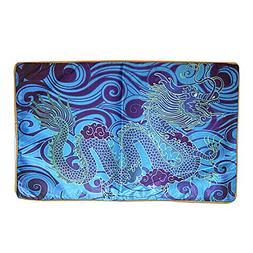 Feng Shui Water Dragon Cushion Cover  - 1 Pair W Free Fengsh