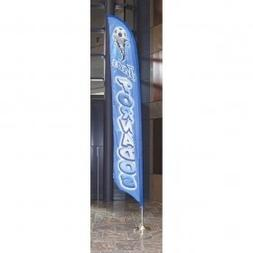 Annin Flagmakers 14 ft. Sun Blade Banners Kit Indoor use w/