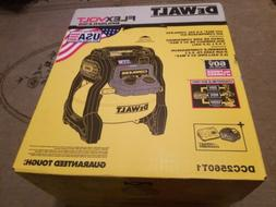 DEWALT Flexvolt 60V MAX 2.5 Gal. Cordless Air Compressor Kit