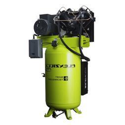 Flexzilla FXS10V080V3-208 Air Compressor w/ Silencer, 10HP,