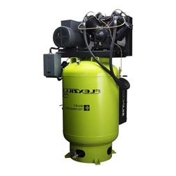 Flexzilla FXS10V120V3-230 Air Compressor w/ Silencer, 10HP,