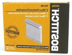 Bostitch Fln-200 5000 Count 2 Inch L Shaped Hardwood Floorin