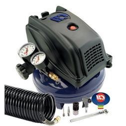 Campbell Hausfeld FP260000RB 1 Gallon Pancake Air Compressor
