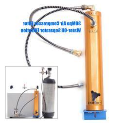 Full Set Air Compressor Filter Water-Oil Separator 30Mpa Fil