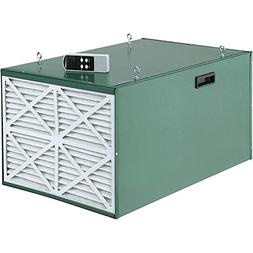 Grizzly G9956 Heavy-Duty Double Air Filter with Remote Contr