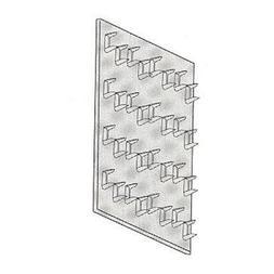 "Galvanized Mending Plate Size: 0.38"" x 2"" x 4"""