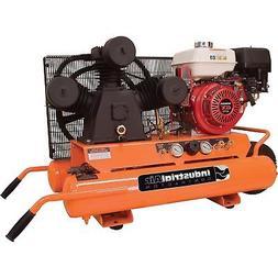 Industrial Air Gas-Powered Wheelbarrow Air Compressor 9 HP H