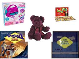 Girl's Gift Bundle - Ages 6-12  - Kids Rule. Game - RoseArt