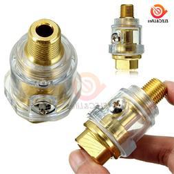 "Hardware Oiler Lubricator of 1/4"" BSP Mini In-Line Oiler Lub"