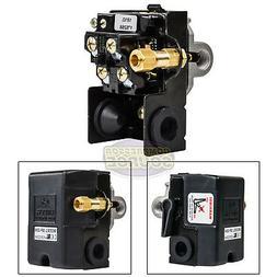 Heavy Duty 25 Amp Air Compressor Pressure Switch Control 140