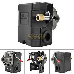 Heavy Duty 4Port 26 Amp Air Compressor Pressure Switch Contr