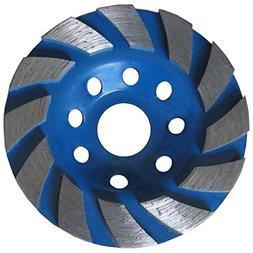 "Heavy Duty 4"" Concrete Turbo Diamond Grinding Cup Wheel for"