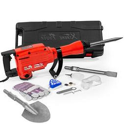 XtremepowerUS Heavy Duty Electric Demolition Jack hammer, Co