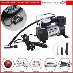 Heavy Duty Portable 12V 1 Car Tire Inflator Pump Air Compres