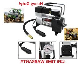 Heavy Duty Portable 12V 1 Car  Tire Inflator Pump Air Compre