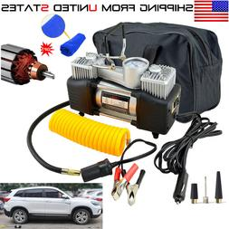12V Heavy Duty Portable Car Electric Tire Inflator Pump Air