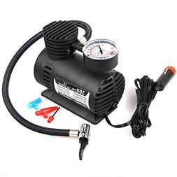 Hex Autoparts 300PSI 12V Portable Mini Air Compressor Auto C