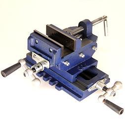 "HFS  5"" Cross Slide Vise Drill Press Metal Milling 2 Way X-Y"