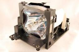Hitachi CP-X430 projector lamp replacement bulb with housing