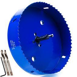 Eliseo 6 inch 152 mm Hole Saw Blade for Cornhole Boards/Corn