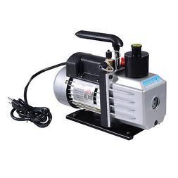 HOMCOM Single Stage Vacuum Pump 7CFM 1/2HP Rotary Vane Deep