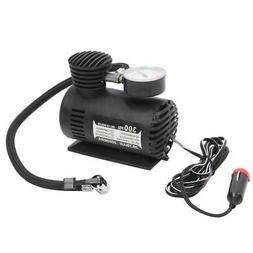 Hot! 300PSI 12V Volt Car Auto Portable Pump Tire Tyre Inflat