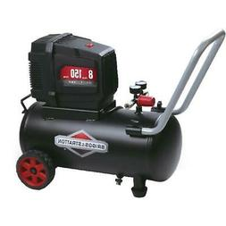 Portable Air Compressor Electric 8 Gallon 150 psi Oil-free B