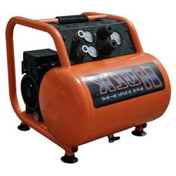 Hulk Silent Air 1.5 HP 5 Gal. Oil-Free Hand Carry Compressor