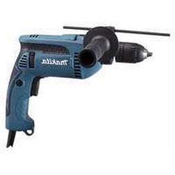 "New Makita Hp1641k 5/8"" Electric 6amp Hammer Drill Kit New I"