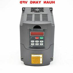 HUAN YANG VSD 2.2KW 110V VARIABLE FREQUENCY DRIVE INVERTER V