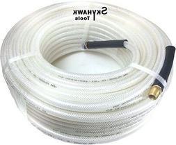 """1/4"""" ID X 100' Air Hose 100 FT FLEXIBLE CLEAR PVC AIR HOSE 1"""