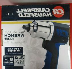 """Campbell Hausfeld TL140200AV 1/2"""" Impact Wrench, Air Impact"""