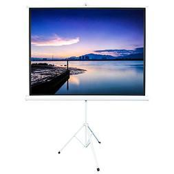 """ShowMaven 84"""" Inch 4:3 HD Adjustable Tripod Projector Projec"""