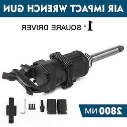 """Industrial Air Impact Wrench 1"""" Pneumatic Compressor Long Sh"""
