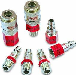 EPAuto Industrial Type D 1/4-Inch Coupler and Plug Kit 7 Pie