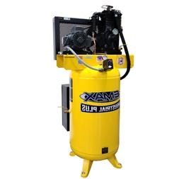 EMAX Industrial Plus Silent  5-HP 80-Gallon Two-Stage Air Co