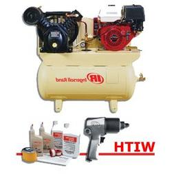 Ingersoll Rand 2475F13GH - 2-Stage Gas-Powered, 13 HP Air Co