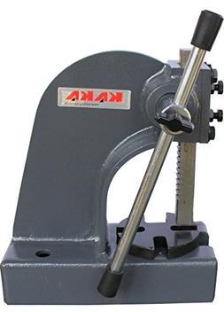 "Kaka Arbor Press, 1/2"" Ton Cast Iron Arbor Press, 3"" Height"