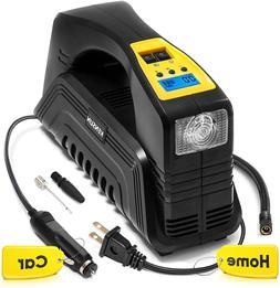 Kensun Ac/Dc Digital Tire Inflator For Car 12V Dc And Home 1